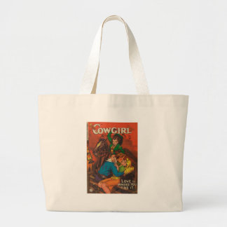 Jealous Cowgirl Large Tote Bag