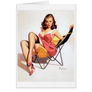 Jealous Pin Up Card