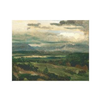 Jean-Baptiste-Camille Corot - Civita Castellana Canvas Print