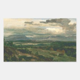 Jean-Baptiste-Camille Corot - Civita Castellana Sticker