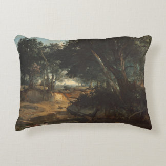 Jean-Baptiste-Camille Corot - Forest of Decorative Pillow
