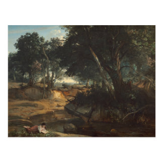 Jean-Baptiste-Camille Corot - Forest of Postcard