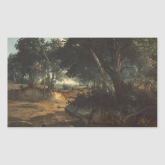 Jean-Baptiste-Camille Corot - Forest of Sticker