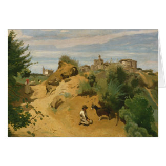 Jean-Baptiste-Camille Corot - Genzano Card