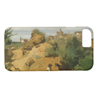 Jean-Baptiste-Camille Corot - Genzano iPhone 8/7 Case