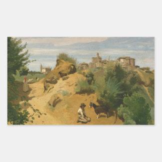 Jean-Baptiste-Camille Corot - Genzano Sticker
