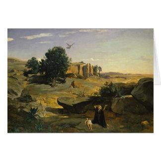 Jean-Baptiste-Camille Corot - Hagar Card