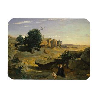 Jean-Baptiste-Camille Corot - Hagar Magnet