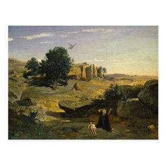 Jean-Baptiste-Camille Corot - Hagar Postcard