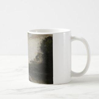 Jean-Baptiste-Camille Corot -Landscape with Bridge Coffee Mug