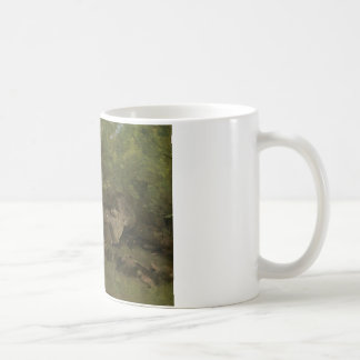 Jean-Baptiste-Camille Corot - Rocks in the Forest Coffee Mug