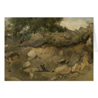 Jean-Baptiste-Camille Corot - Stone Mine Card