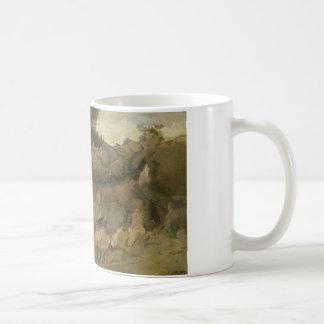 Jean-Baptiste-Camille Corot - Stone Mine Coffee Mug