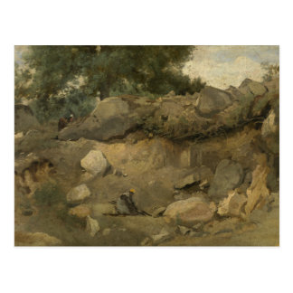 Jean-Baptiste-Camille Corot - Stone Mine Postcard
