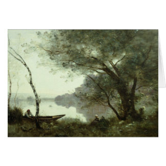 Jean-Baptiste-Camille Corot - The Boatman Card