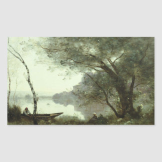 Jean-Baptiste-Camille Corot - The Boatman Sticker