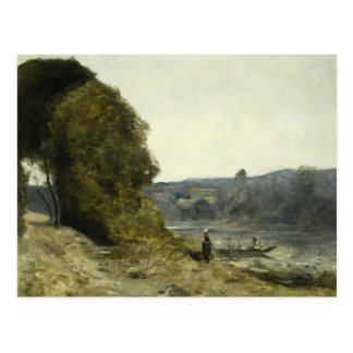 Jean-Baptiste-Camille Corot - The Departure Postcard