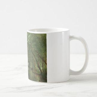 Jean-Baptiste-Camille Corot - The Eel Gatherers Coffee Mug