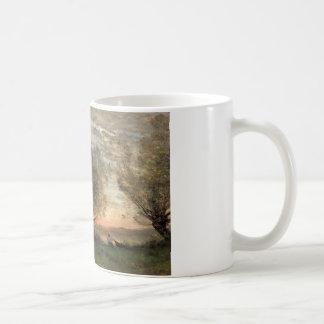 Jean-Baptiste-Camille Corot - The Fisherman Coffee Mug