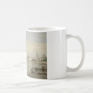 Jean-Baptiste-Camille Corot - The Harbor Coffee Mug