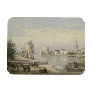 Jean-Baptiste-Camille Corot - The Harbor Magnet