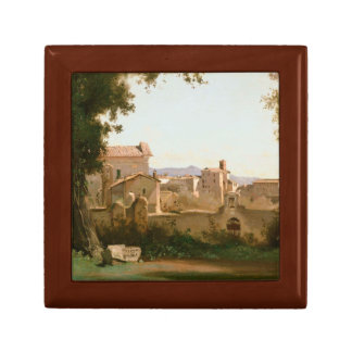 Jean-Baptiste-Camille Corot -View from the Farnese Gift Box