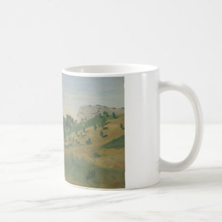 Jean-Baptiste-Camille Corot - View of Olevano Coffee Mug