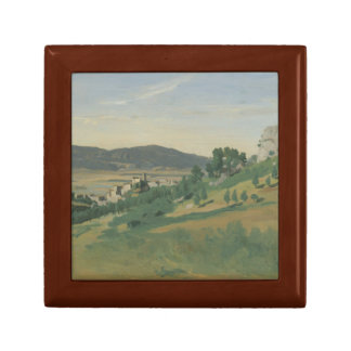 Jean-Baptiste-Camille Corot - View of Olevano Gift Box