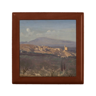 Jean-Baptiste-Camille Corot-Villeneuve-les-Avignon Gift Box