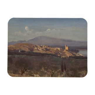 Jean-Baptiste-Camille Corot-Villeneuve-les-Avignon Magnet