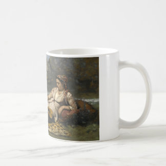 Jean-Baptiste-Camille Corot -Young Women of Sparta Coffee Mug