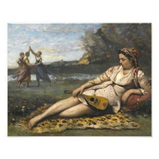 Jean-Baptiste-Camille Corot -Young Women of Sparta Photo Print