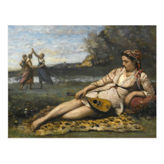 Jean-Baptiste-Camille Corot -Young Women of Sparta Postcard