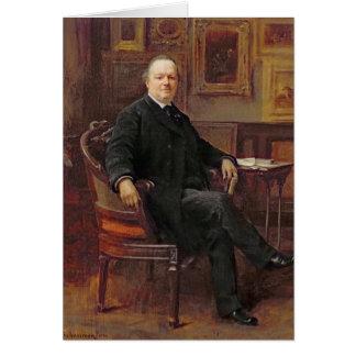 Jean-Baptiste Foucart 1894 Greeting Card