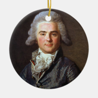 Jean-Baptiste-Jacques Augustin (1759-1832) French Round Ceramic Ornament
