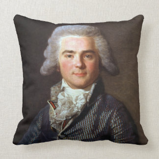 Jean-Baptiste-Jacques Augustin (1759-1832) French Throw Pillow