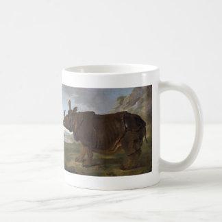 Jean-Baptiste Oudry: Clara the Rhinoceros Coffee Mug