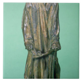 Jean d'Aire, from the Burghers of Calais (bronze) Tile