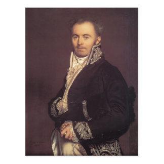 Jean Dominique Ingres-Hippolyte-François Devillers Postcard