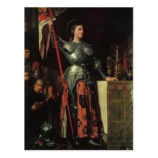 Jean Dominique Ingres- Joan of Arc Postcard