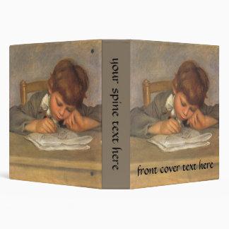 Jean Drawing by Pierre Renoir, Vintage Fine Art 3 Ring Binder