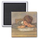 Jean Drawing by Renoir, Vintage Impressionism Art