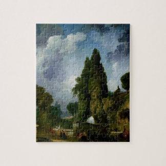 Jean-Honore Fragonard- Blind man's buff Jigsaw Puzzle