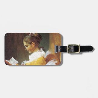Jean-Honore Fragonard The Reader Bag Tag