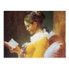 Jean-Honore Fragonard The Reader Postcard