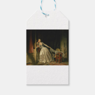 Jean-Honore Fragonard - The Stolen Kiss - Fine Art Gift Tags