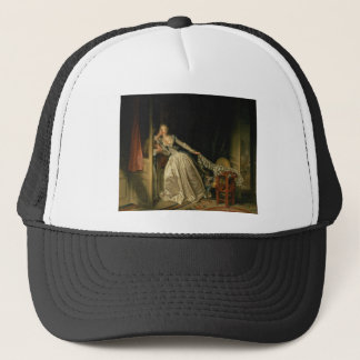Jean-Honore Fragonard - The Stolen Kiss - Fine Art Trucker Hat