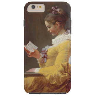 Jean-Honore Fragonard Young Girl Reading Vintage Tough iPhone 6 Plus Case