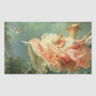 Jean-Honore Frangonard's rococo painting The Swing Sticker