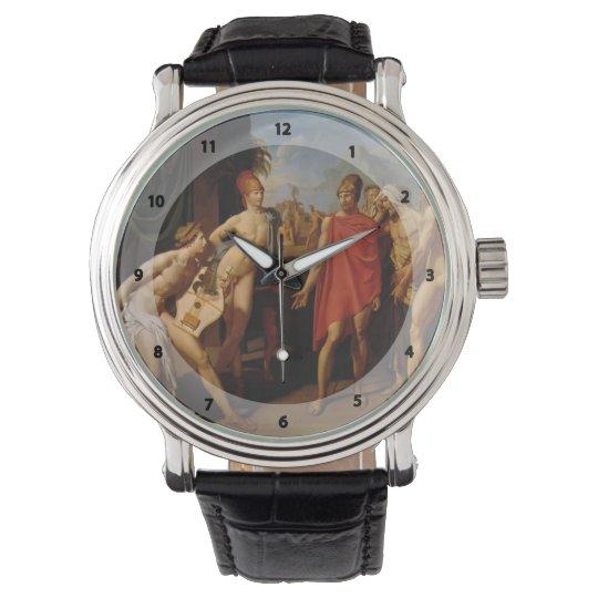 Jean Ingres- Ambassadors Sent to Urge Achilles Wrist Watch